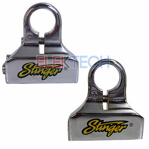 2 Pack Stinger Positive/Negative Top Post Battery Terminal Pair 0 4 8 Awg Gauge