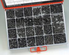 CHAMPION MASTER KIT BLACK ZINC SELF-TAPPING SCREWS (830 Pieces)