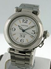 Cartier Pasha C Automatic $5,150.00.00 RARE Big Date 35mm Unisex automatic watch