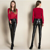 Brand New Women's Genuine Lambskin Leather Slim fit Skinny Leather Pants HL12