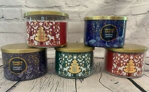 NEW Yankee Candle 3 Wick 18oz Bedtime Stories Magical Frosted Forest Cinnamon