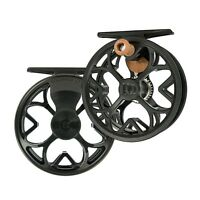 NEW ROSS COLORADO LT 4/5 CLICK DRAG FLY REEL MATTE BLACK FREE $60 LINE, BACKING