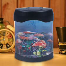 New listing 5-Color Change Usb Jellyfish Lamp,Electric Aquarium Tank Ocean Mood Night Light