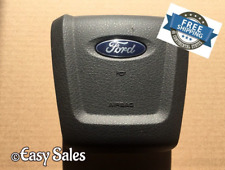 2009-2014 FORD F-150 BLACK DRIVER STEERING WHEEL AIRBAG FITS 09 10 11 12 13 14