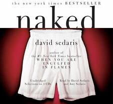 Naked by David Sedaris (1997, Cassette, Abridged) audio