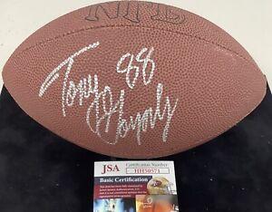 Tony Gonzalez Signed Football Mini Football NFL Wilson Chiefs HOF Autograph JSA