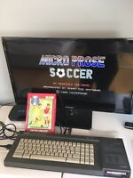 AMSTRAD CPC - MICRO PROSE - MICROPROSE SOCCER - disk - disc - tested