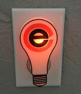 Vintage Commonwealth Edison Night Light Illinois Utility Company ComEd USA