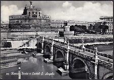 AA5237 Roma - Città - Ponte e Castel S. Angelo - Cartolina postale - Postcard