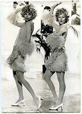 Photo Henri Bureau - Sylvie Vartan et Mireille Darc - Nov 1968 - Tirage d'époque