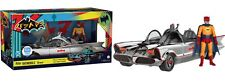 DC Batman 1966 TV Series Chrome Batmobile with Batman Action Figure Set