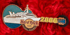 Hard Rock Cafe Pin NASSAU BAHAMAS CRUISE  SHIP Boat Guitar logo hat lapel ocean