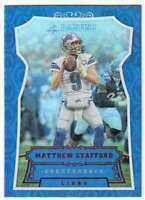 2016 Panini Football Shining Armor Rainbow Foil #65 Matthew Stafford Lions