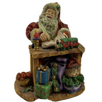 Dept 56 In The Spirit Santa Sculpture Hand Textured Cold-Cast Porcelain Holiday