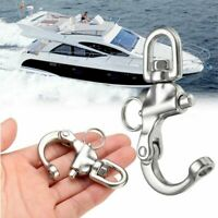 316 Stainless Steel Quick Release Boat Chain Shackle Swivel Eye M3Q3
