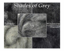 Shades of Grey - Bulky Corriedale Wool - The Entire Collection