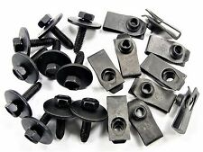 GM Body Bolts & U-Nuts- M6-1.0mm x 25mm- 10mm Hex- Qty.10 ea.- #147