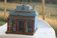 Potters Old West Town 3065 Wells Fargo, Wild West, zu 7cm Sammelfiguren, Fertigm