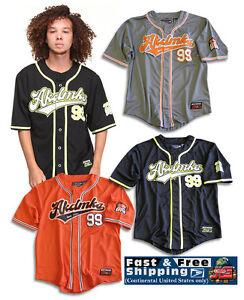 Akademiks SHUT OUT 100% Polyester, Baseball & Softball Jerseys S Shirt A13SK02