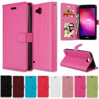 Slim Card Wallet Leather Flip Magnetic Case Cover For LG G3 G4 G5 G6 Stylus 2 3
