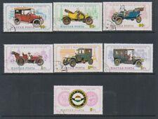 Hungary - 1975 Vintage Motor Cars set - Cto - Sg 2951/7