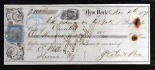 A242 - 1871 RECEIPT - NEW YORK