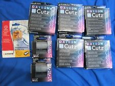 Massive Scrapbooking Lot Xyron Cutz, Borders and Blade Replacement New