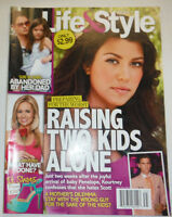 Life & Style Magazine Kourtney Kardashian 2 Kids Alone July 2012 022315r3