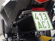Peugeot Speedfight 4 Kennzeichenhalter WRC 3 LC 307 LAC RS AC LeMans Darkside 50