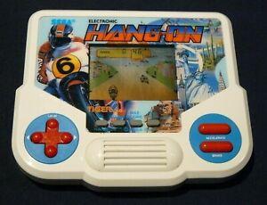 Sega Hang On 1988 Tiger Electronic Handheld Video Game LCD WORKS RARE RETRO