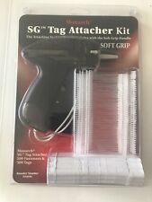 "Monarch 925046 2"" Smoke Sg Tag Attacher Gun Kit with Tagger Tail Fasteners"