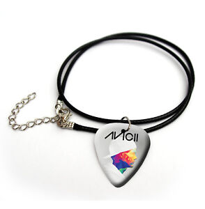 Avicii Tim Bergling Guitar Pick Plectrum Choose From necklace bracelet keyring