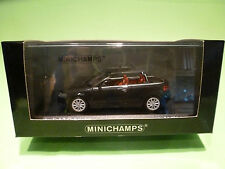 MINICHAMPS 1:43  AUDI A3 CABRIOLET 2008 - GREY METALLIC - MINT CONDITION  IN BOX