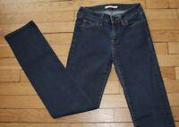 LEVIS 714 Jeans pour Femme W 26 - L 32 Taille Fr 34- 36 STRAIGHT (Réf #S018)