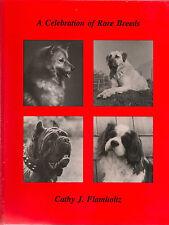 Celebration of Rare Breeds, dog book, 1986