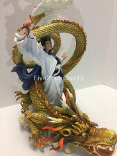 Romance of the three kingdoms zhuge liang riding dragon statue Figure 諸葛亮