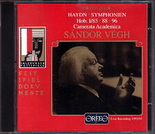 Sandor Vegh: Haydn Symphony No. 85 la Reine 88 96 MIRACLE CD ORFEO Salzburg Live