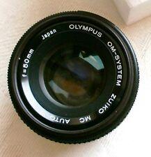 Olympus OM-System Zuiko Auto-S 50mm f1.8 Prime Lens OM1 OM2 OM3 OM4 OMG OM10