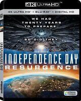 INDEPENDENCE DAY RESURGENCE 4K HDR BLURAY NO STD BLURAY DISC NO DIGITAL HD FILE