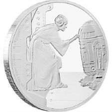 2016 $2 Niue - Star Wars - Princess Leia - 1oz Silver Proof - New Zealand Mint