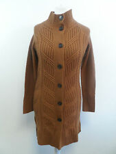 Pure Collection Cable Coat Tan Size S Box43 03 C