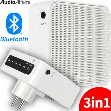 AudioAffairs 3in1 Mobiles Bluetooth Steckdosenradio UKW Küchen Radio Li-Ion Akku