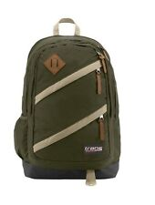 Trans By Jansport Notch Laptop Backpack ~ Green Machine ~ New !!!
