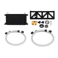 Mishimoto Thermostatic Oil Cooler Kit - Black - fits Subaru BRZ / Toyota GT86
