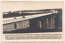 Ak Größte Reichsautobahn Brücke Muldental Nossen - Siebenlehn um 1940 ! (A200