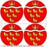 """EAST SUSSEX England UK Vinyl Bumper,Decals Stickers 2""""(50mm) x4"""