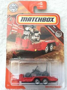 MATCHBOX MAINLINE - MBX Cycle Trailer - NEW and MINT