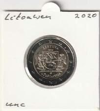 Litouwen/Lietuva 2 euro 2020 UNC : Aukstaitija