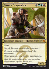 MTG SURRAK DRAGONCLAW FOIL - SURRAK ARTIGLIO DI DRAGO - KTK - MAGIC