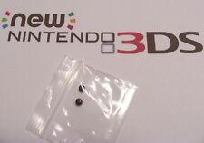 2015 Nintendo New 3DS Repair Part Used Black Rubber Nubs Screw Covers Back Side